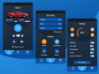 Car Control App