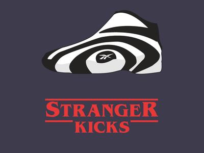 Stranger Kicks Dribbble