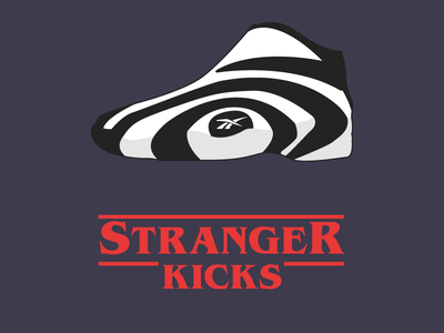 Stranger Kicks Dribbble shaqnosis shaq apparel reebok shoes kicks things stranger