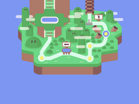 Mario World Map