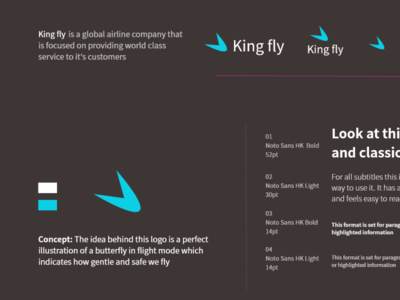 king fly logo