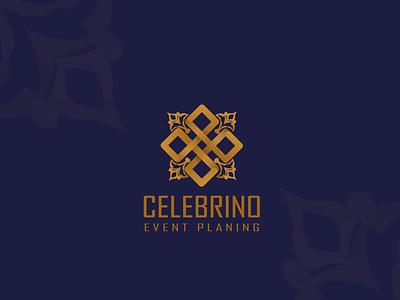 celebrino logo logo design branding