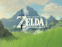 Animated Logo for The Legend of Zelda: Breath of the Wild