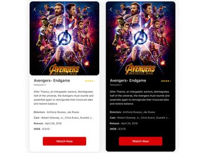 Streaming App | Movie View
