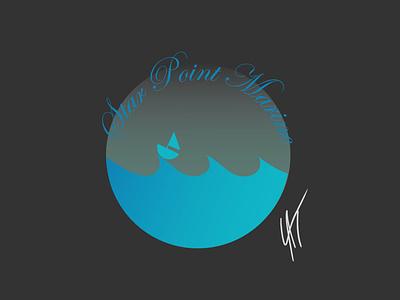 Daily Logo - Boat Logo   Day 23 boat dailylogo illustrator branding vector logo dailylogochallenge drawing illustration design