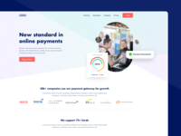 Header Exploration for Payment Website web ui header explore ui explore payment header payment website website concept uxui payment ui website daily ui daily ui challenge