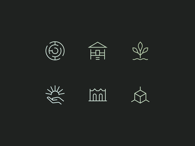 Architecture Icons heritage structure 3d maze mangrove climate icons architecture