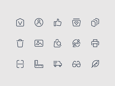 E-commerce Icons ecommerce app ui icons ui icon family icon set icon ecommerce