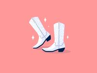New boot goofin'