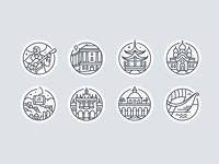 Destination Icons