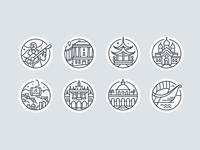 Destination Icons