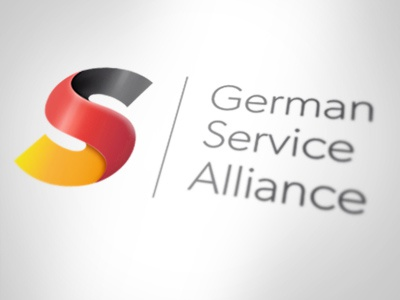 GSA Logo logo service flag germany german alliance branding icon