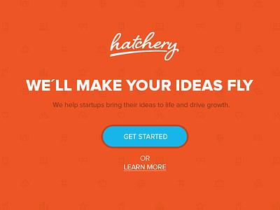 hatchery Landingpage hatchery startup ideas landingpage website pattern