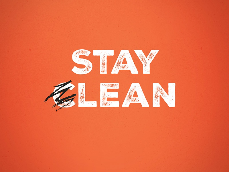 Stay Lean Wallpaper by Alex KA for