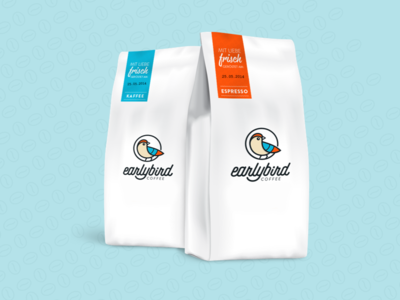 earlybird coffe bags espresso bag packaging coffe bird earlybird