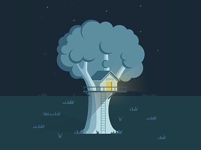 hatchery treehouse startup stars night baumhaus hatchery treehouse