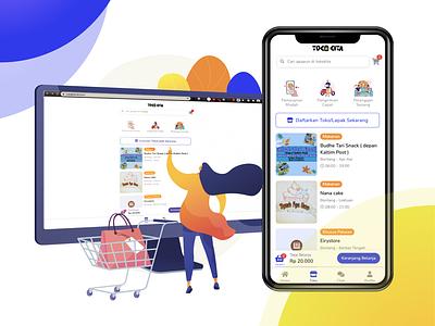 TokoKita by Ruang Kita kaltim bontang agungkeys ruangkita tokokita mobile commerce commerce ecommerce mobile webmobile