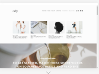 Awesome Squarespace website