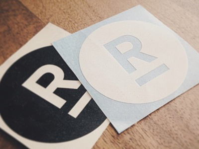 Risen Decals branding risen stickers logo decals gear identity circle notlazy