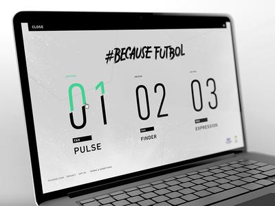 Hyundai FIFA World Cup Menu web website design interactive soccer futbol world cup tumblr mobile menu nav