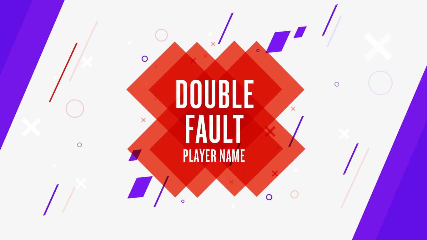 Ibm us open doublefault