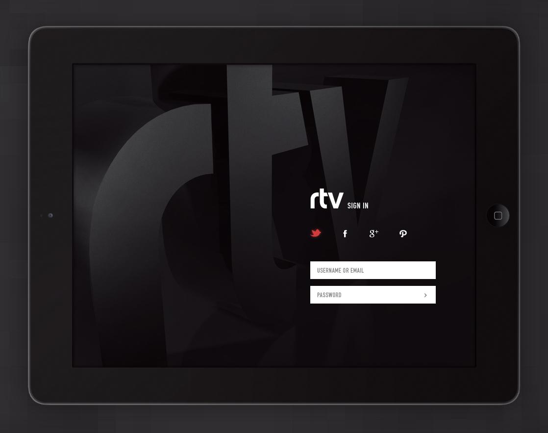 Rtv signin