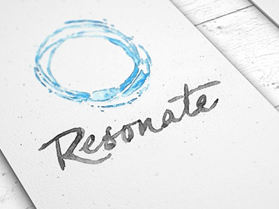 Resonate cards white