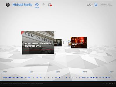Rectify design 3d web html webgl social terrain icons facebook