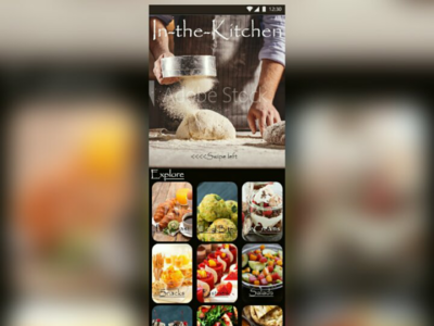 In-the-kitchen recipe app