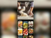 In-the-kitchen recipe app