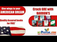 Facebook post for Barron's GRE books.