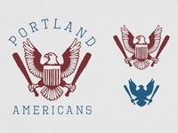 Portland Americans Icon