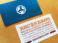 Brues Bros Cards
