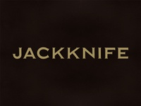 Jackknife Marks: Custom Copperplate