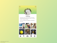 DailyUI 006: User profile