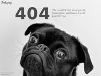 DailyUI 008: 404 page