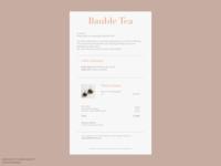 DailyUI 017: Email receipt