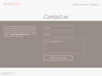 DailyUI 028: Contact us