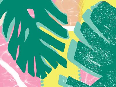 Tribasic Leaves 🌱💕 pattern illustrations