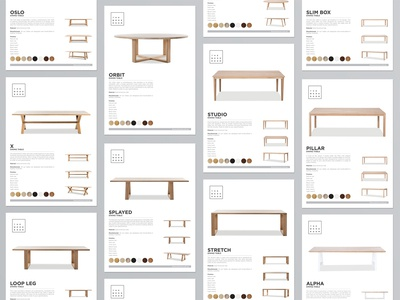 The Wood Room Spec Sheets