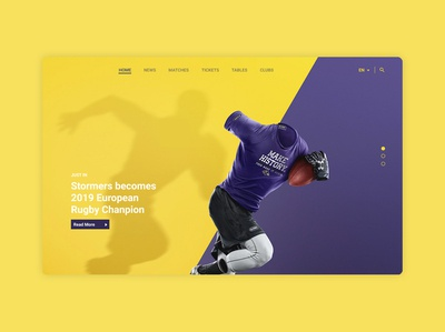 Sports Home Page