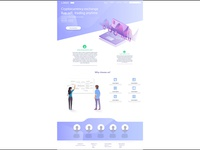 Landing Page - Full preview,for business, finance