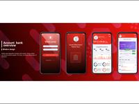 Banking app  UI Kit for responsive Mobile app
