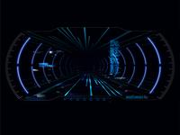 Futuristic VR Head-up Display Design