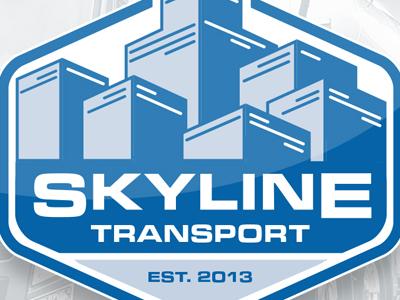 Skyline logo mockup 2
