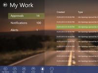 Win8 Modern UI, My Work