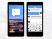 Peepchat, The IM + Selfie App