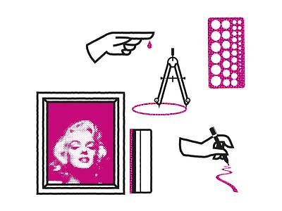 Get to Work ui ux logo icon design branding mikoko typography vector illustration drawing