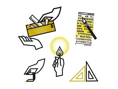 Get to work app ux ui logo city branding icon character design branding mikoko vector illustration