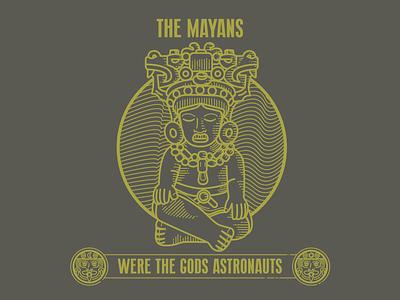 Were the gods astronauts statue incas aztecs god mayan characterdesign charachters brand typography charactedesign character logo icon design branding brazil mikoko drawing vector illustration